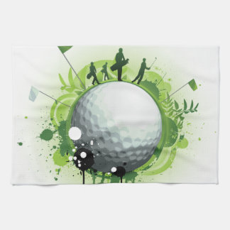 Let's Tee Off For Golf Towel