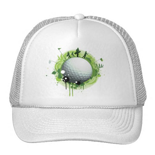 Let's Tee Off For Golf Trucker Hat