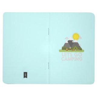 Lets va a acampar cuadernos grapados