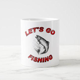 Lets va a pescar estilos enormes de la taza (3) taza grande
