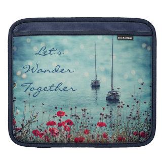 Let's Wander Together iPad Sleeve