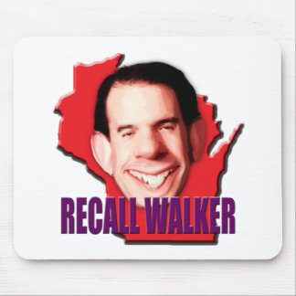 Let's work to Recall Scott Walker Mouse Pad