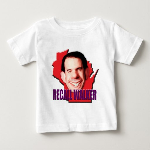 Let's work to Recall Scott Walker Tee Shirt