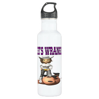 Lets Wrangle 2 Stainless Steel Water Bottle