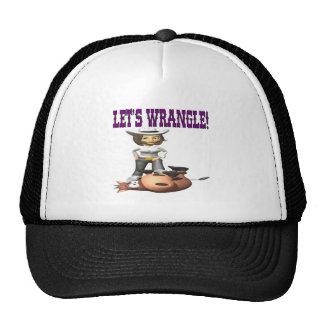 Lets Wrangle 2 Trucker Hat