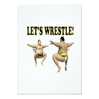 Lets Wrestle 3 Card