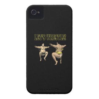 Lets Wrestle 3 Case-Mate iPhone 4 Case