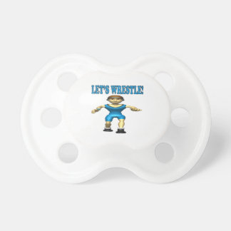 Lets Wrestle 4 Pacifier