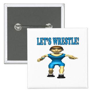 Lets Wrestle 4 Pin