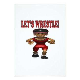 Lets Wrestle 5 Card
