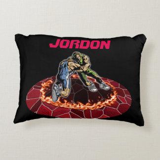Let's Wrestle Decorative Pillow