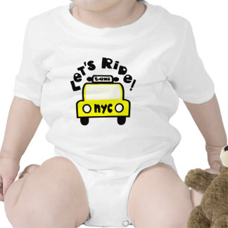 Let'sRide! With NYC Retro Taxi Cab Bodysuit