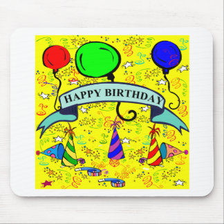 Lets's Have a Party! Mouse Pad