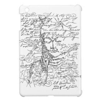 Letter 菩 薩 iPad mini cases