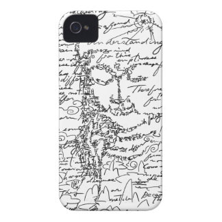 Letter 菩 薩 iPhone 4 case