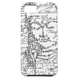 Letter 菩 薩 iPhone SE/5/5s case