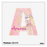 Letter A Fairy Name Wall Decal For Girls Room