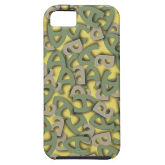Letter A Green iPhone SE/5/5s Case