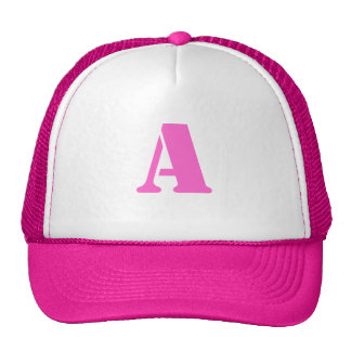 Letter A Hat
