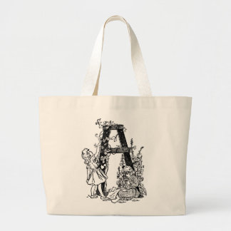 Letter 'A' in the Garden - Bag