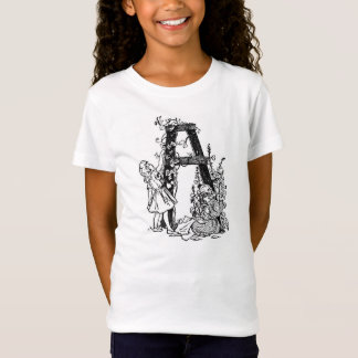 Letter 'A' in the Garden T-Shirt