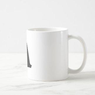 Letter A_large Coffee Mug