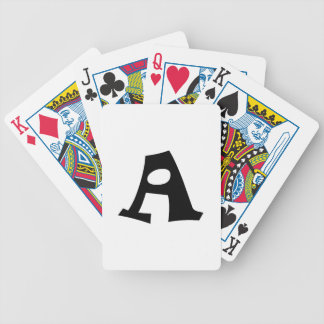 Letter A_large Deck Of Cards