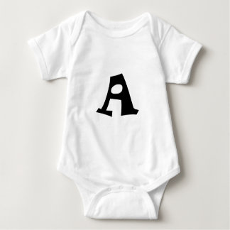 Letter A_large Tshirts