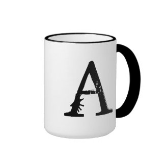 Letter A-Supafly 36 Coffee Mugs