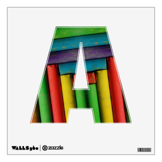 Letter A Wall Decal