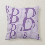 Letter B6 Pillow