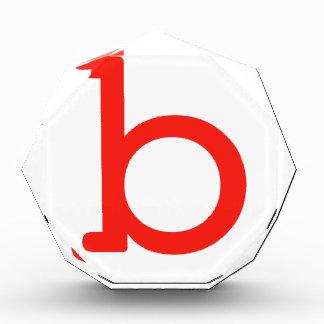 Letter b award