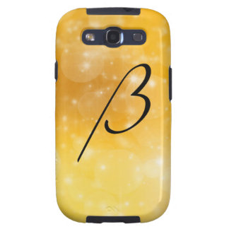 Letter B Galaxy SIII Cover