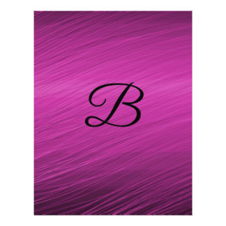 Letter B Personalized Flyer