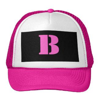 Letter B Hat