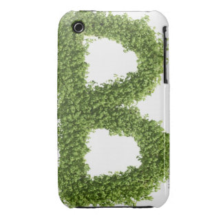 Letter 'B' in cress on white background, Case-Mate iPhone 3 Case