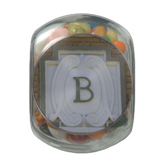 Letter B Jelly Belly Candy Jars
