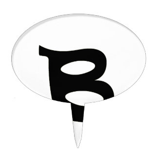 Letter B_large Cake Toppers