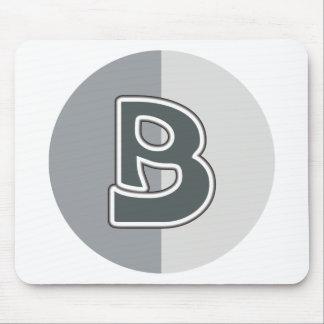 Letter B Mouse Pad