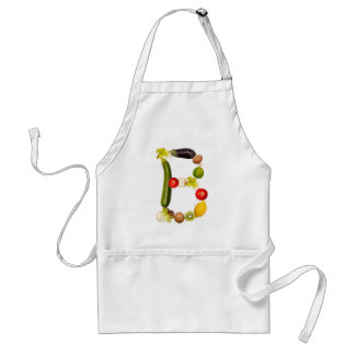 """letter """"B"""" of fruits and vegetables Adult Apron"""