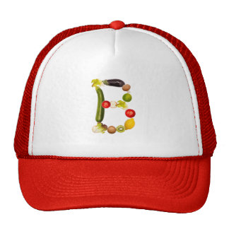 """letter """"B"""" of fruits and vegetables Trucker Hat"""
