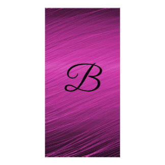 Letter B Photo Greeting Card