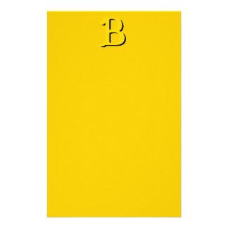 Letter B Stationery
