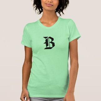 Letter B tank Top T Shirts