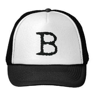 Letter B Trucker Hat