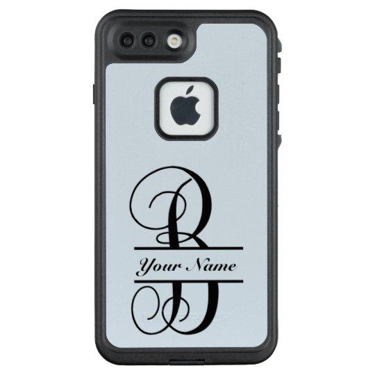 official photos 6ad24 9f964 Letter B, Vine Font, Split Letter Monogram LifeProof iPhone Case