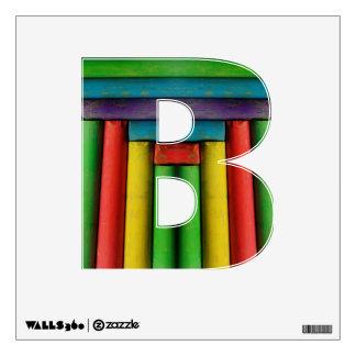 Letter B Wall Sticker