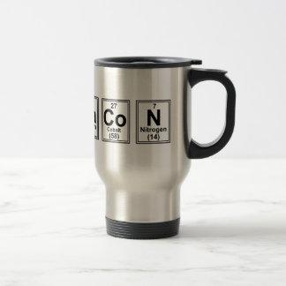 Letter Bacon Tiles Travel Mug