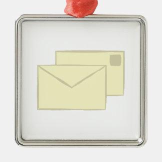 Letter_base Adorno Cuadrado Plateado