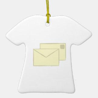 Letter_base Adorno De Cerámica En Forma De Camiseta